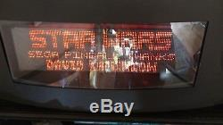 128 x 32 Cherry Plasma Dot Matrix Display DMD 4 Pinball Machine Tested Working