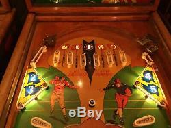 1950 Gottlieb The 4 Horsemen Pinball Machine Jukebox Vintage Antique Rare