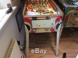 1958 Gottlieb Woodrail Pinball Machine Sunshine Superb Condition Rare