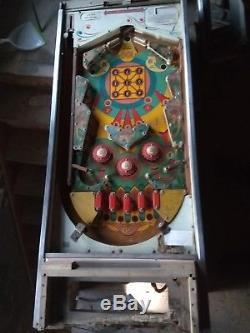 1960's Bally Bongo Pinball machine rare game
