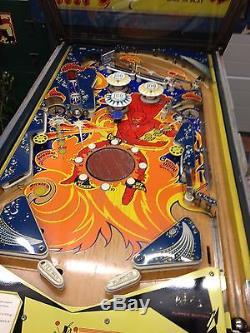 1972 Bally Fireball Electro Mechanical Pinball machine