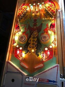 1975 Gotlieb Abra Ca Dabra Pinball Machine