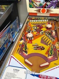 1975 Gottlieb El Dorado EM Pinball Machine Works Beautifully