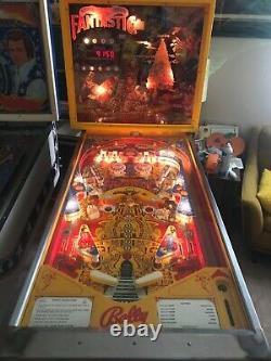 1977 Bally Captain Fantastic pin ball machine-Elton John-good working order