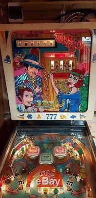 1977 playmatic the 30's electro mechanical pinball table