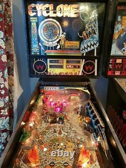 1988 Williams Cyclone Pinball Machine