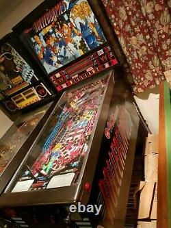 1990 Williams Rollergames Pinball Machine