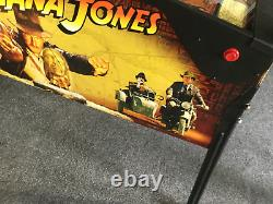 2008 Stern Indiana Jones pinball workshopped, no errors in test, works on coins