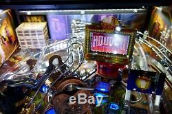 2017 American Pinball HOUDINI MASTER OF MYSTERY Arcade Pinball Machine & Extras
