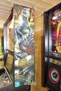 2019 Stern Jurassic Park Premium Edition Arcade Pinball Machine Superb Condition