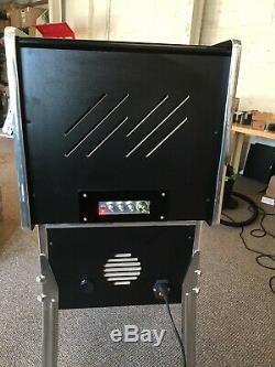 27 Deluxe Mini Virtual Pinball Machine Chrome With Legs