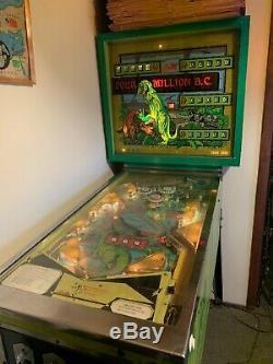 4 Million BC 1971 Bally Pinball Machine