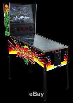 4K Virtual Pinball Machine 49 Bezel Free Edge-to-Edge Design FULL SIZE
