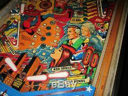 AMAZING SPIDERMAN Pinball Machine GOTTLIEB 1980 (Custom LED & Excellent)