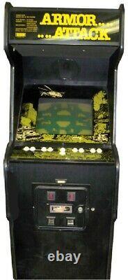 ARMOR ATTACK ARCADE MACHINE by CINEMATRONICS 1980 (Excellent Condition) RARE
