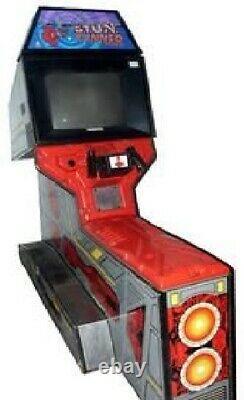 ATARI S. T. U. N. RUNNER ARCADE MACHINE 1989 (Excellent Condition)RARE