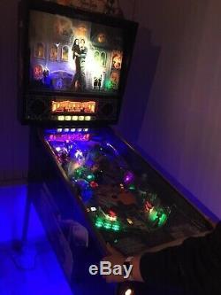 Adams family gold pinball machine