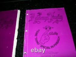 Addams Familly Pinball Original Manual