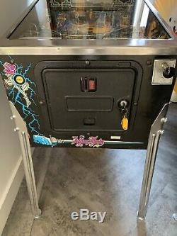 Addams Family Pinball Machine Gold Roms LED Lights