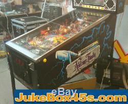 Addams Family Pinball Machine Perfect Condition Perfect Warranty