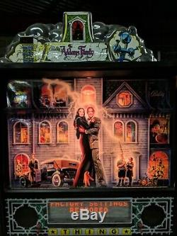 Addams Family Pinball Machine Works Great