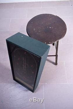 Antique 1920s The Wizard Table Top Pinball Game Machine Working Order Arcade