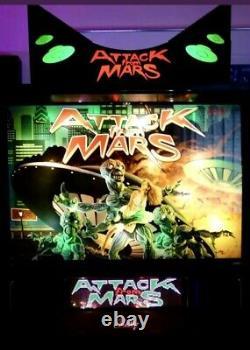 Attack from Mars Pinball Machine