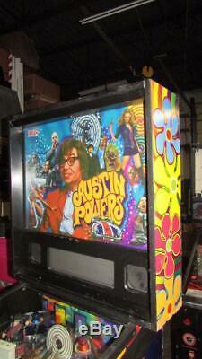 Austin Powers Pinball Arcade Machine Stern. LED Bulbs Kit Installed. Free Ship
