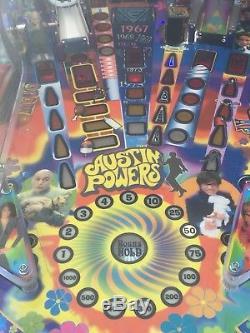 Austin powers pinball machine
