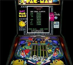 BABY PAC-MAN Pinball Arcade LED Lighting Kit custom SUPER BRIGHT KIT