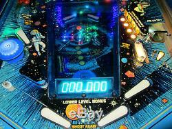 BLACK HOLE Pinball Machine GOTTLIEB 1981 (Custom LED & Excellent)