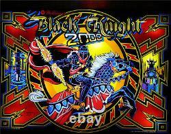 BLACK KNIGHT 2000 Complete LED Lighting Kit custom SUPER BRIGHT PINBALL LED KIT