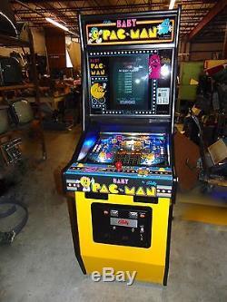 Baby Pacman Pinball Machine LED's NICE RESTORE