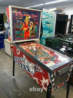 Bally 6 Million Dollar Man pinball machine, full restoration