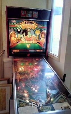 Bally 8 ball Pool Pinball Machine