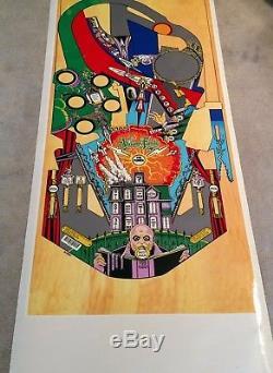 Bally ADDAMS FAMILY pinball machine Playfield overlay