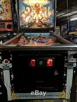 Bally Atlantis Pinball Machine Works great