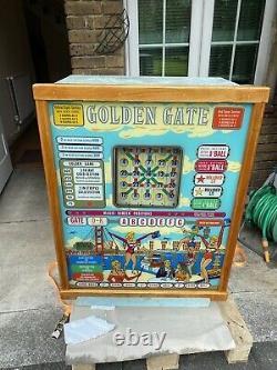 Bally Bingo Machine, This Is A 1962 Original Golden Gate Machine
