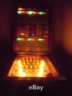 Bally Bingo Type, Electronic Sirmo Pinball Machine, Golden Continental Joker