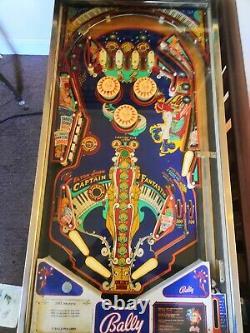 Bally Captain Fantastic 1976 pinball machine