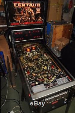 Bally Centaur 2 Pinball Machine 100% Working