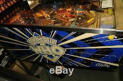 Bally Dr Who Pinball Machine 100% Working