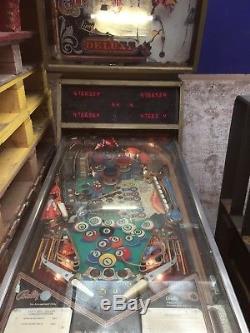 Bally Eight Ball Deluxe Pinball Machine