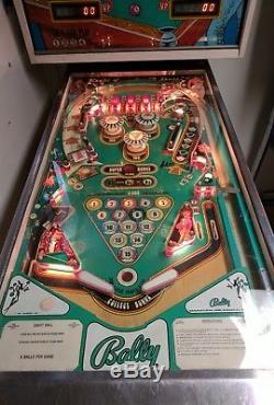 Bally Eight Ball Pinball Machine Happy Days The Fonz Fonzie Restored Eightball