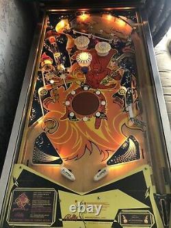 Bally Fireball Pinball