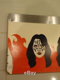 Bally KISS Pinball Machine Left Side Cabinet For Great Americana Pop Art