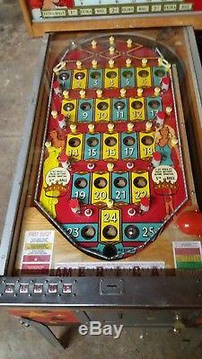 Bally Miss America Deluxe bingo machine