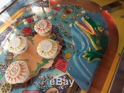 Bally'Nip-it' pinball machine 1972 (Happy days!) THE FONZ