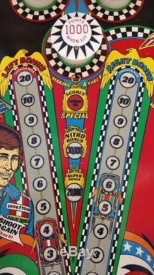 Bally Nitro Groundshaker Pinball Machine 1978 Refurbished Fully Working