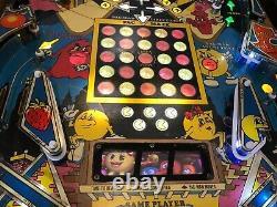 Bally Pac-Man Pinball Machine Coffee Table Oak Table 1981 Play Field